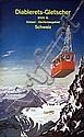 Poster: Diablerets-Gletscher