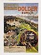 Poster: Grand Hotel Kurhaus Dolder
