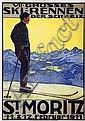 Poster: VII. Grosses Ski-Rennen - St.Moritz