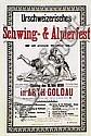 Poster - Schwing- & Älplerfest