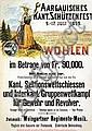 Poster - Schützenfest Wohlen