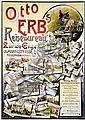 Poster - Otto Erb's Reisebüro