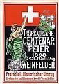 Poster - Centenar-Feier Weinfelden