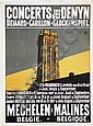 Poster - Concerts Jef Denyn