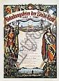 Poster - Gründungsfeier Stadt Bern
