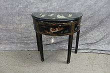 Asian Half  Round Wall Table