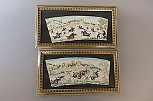 Pair of Framed Asian Art