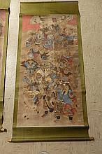 2 Asian 19th Century Scrolls