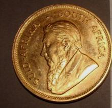 Gold Krugerrand South African Coin 1979