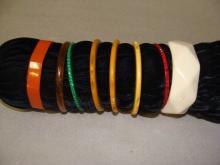 Assorted Lot of Bakelite Bracelets