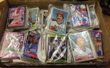 A collection of approx 500 c1970-80s US baseball cards to include Topps & Score.