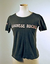 Steve Jones Sex Pistols Stage Worn T-Shirt