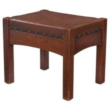 L & JG Stickley footstool, #394 19