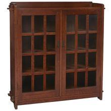 L & JG Stickley bookcase, #645 52
