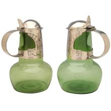 Archibald Knox (1864-1933) for Liberty & Co. jugs, #310, pair 5 3/4