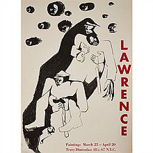 Jacob Lawrence, (American, 1917-2000), Two Rebels, c. 1963, poster, 30.5