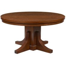 American Arts & Crafts dining table 54