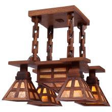 American Arts & Crafts chandelier 19.5