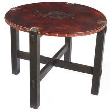 American Arts & Crafts lamp table 36