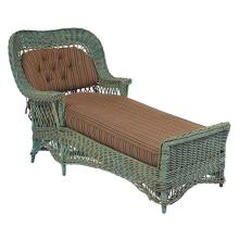 American Arts & Crafts period wicker chaise lounge 32