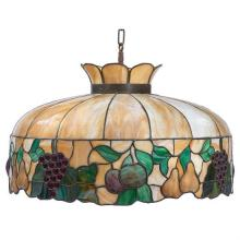 American Arts & Crafts hanging shade 24