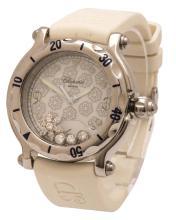 Chopard Happy Sport Snowflake wristwatch, reference #8347 1 1/2