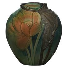 Virginia B. Demarest for Rookwood Pottery Lotus Blossom vase, #T1239 5