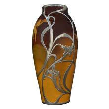 Sallie Coyne (1876-1939) for Rookwood Pottery Floral vase, #901 3.5