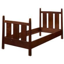 Gustav Stickley twin bed, #923 40