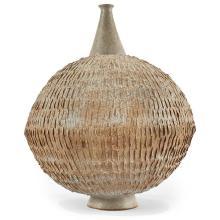 Clyde Burt (1922-1981) large footed vase 14
