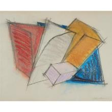 Charles Hinman, (American, b. 1932), Untitled, 1980, pastel on paper, 19.25