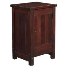 Gustav Stickley smoker's cabinet, #522 17