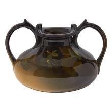 Katharine Hickman (1873-1954) for Rookwood Pottery Violet double handled vase, #461 6