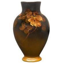 Edward Timothy Hurley (1869-1950) for Rookwood Pottery Wild Rose vase, #375 3