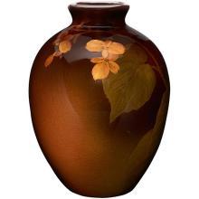 Elizabeth Lincoln (1876-1957) for Rookwood Pottery Violet vase, #902D 5