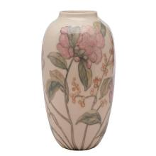 Elizabeth Barrett for Rookwood Pottery Peony vase, #6920 6.5