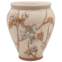 Margaret McDonald (1893-1964) for Rookwood Pottery Apple Blossom vase, #2910 5.5