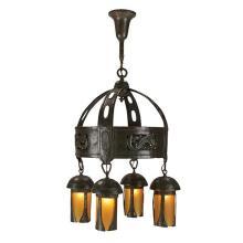 American Arts & Crafts chandelier 24