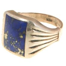 American Arts & Crafts Style lady's ring size: 7.25