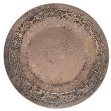 Tiffany Studios plate, #1741 6.75