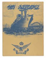 LYON: On Service. 'At Sea'... July 1944