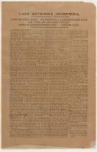 Boer War Broadside: Methuen's Operations