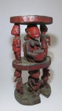 Very Rare Old Yoruba Shango Altar Stand , African Art