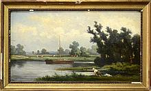 KARL DAUBIGNY FRENCH 1846-1886