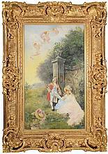 GUISEPPE FERRARI ITALIAN 1840-1905
