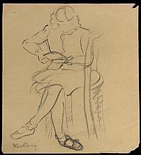 MOISE KISLING POLISH/FRENCH 1891-1953