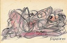 JOSE DAVID ALFAROS SIQUEIROS (MEXICAN 1896-1974)