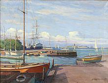 ARNE MAGNUSSEN SWEDISH 1890-1963