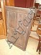 Geo III oak corner cupboard