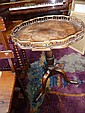 A George III mahogany tripod table with shaped